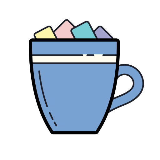 Hot, Chocolate, With, Marshmallows Icon Free Of Merry Holidays