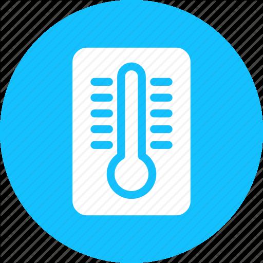 Cold, Hot, Temperature, Thermometer Icon