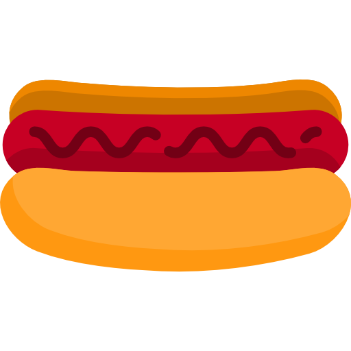 Hot Dog Icon Food And Drink Freepik