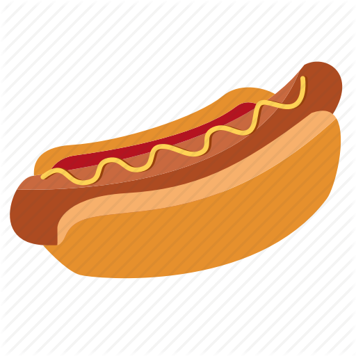 Bun, Cooking, Fast Food, Food, Hot Dog, Hot Dog, Ketchup, Snack Icon
