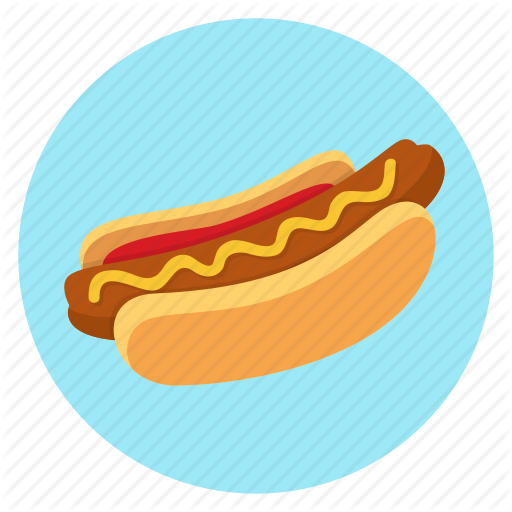 Color, Dinner, Fast, Food, Hot Dog Icon