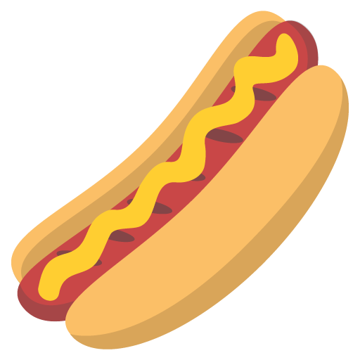 Hot Dog Emoji Vector Icon Free Download Vector Logos Art