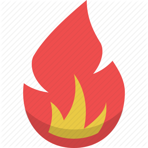Burn, Burning, Fire, Flame, Flaming, Hot Icon