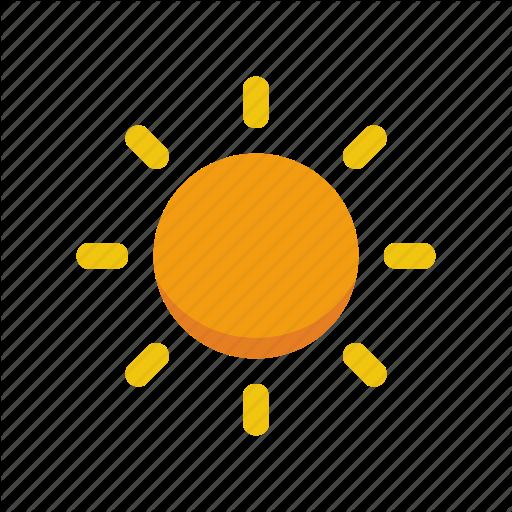 Hot, Nature, Summer, Sun, Weather Icon