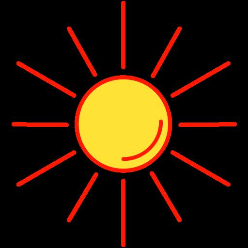 Sun, Sunny, Hot, Weather Icon