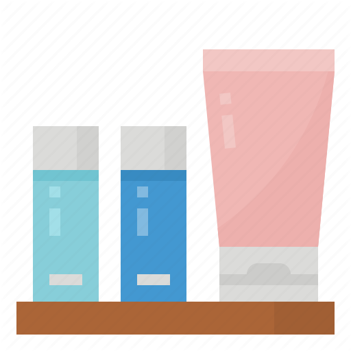 Amenities, Set, Shampoo, Soap Icon