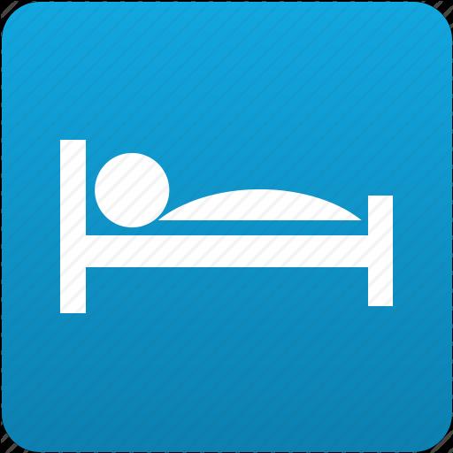 Bed, Bedroom, Hospital, Hotel, Motel, Sleep, Sleeping Icon