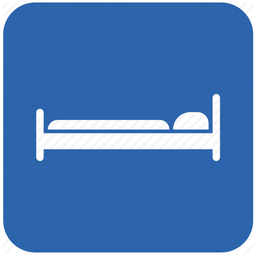Bed, Bedroom, Hostel, Hotel Icon