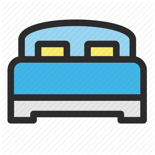 Bed, Furniture, Home, Hotel, Interior, Room Icon