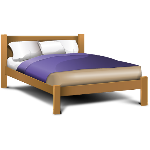 Double Bed Icon