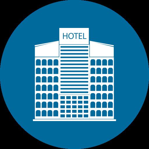 Home, Building, City, Hotel Icon