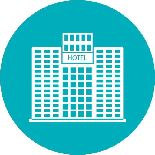 Building, Hotel Icon Free Of Building Vol