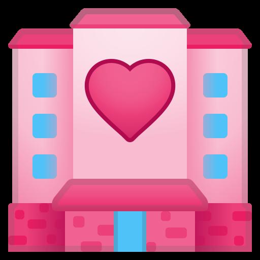 Love Hotel Icon Noto Emoji Travel Places Iconset Google