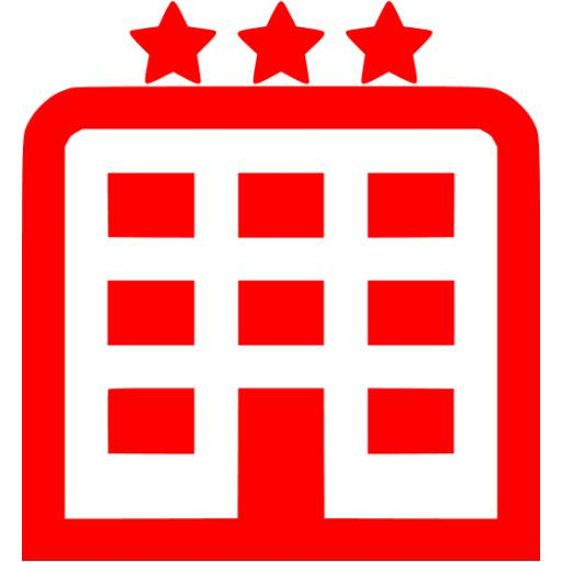 Red Hotel Icon