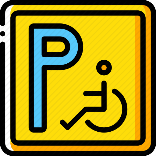 Accommodation, Disabled, Hotel, Parking, Service, Service Icon
