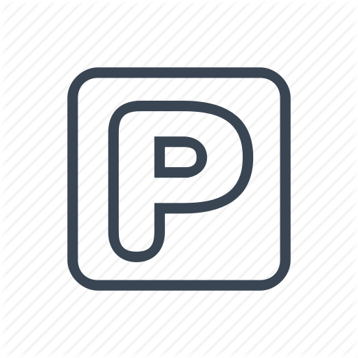 Area, Hotel, Parking, Service, Sign Icon