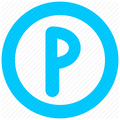 Hotel, Parking, Service, Sign Icon