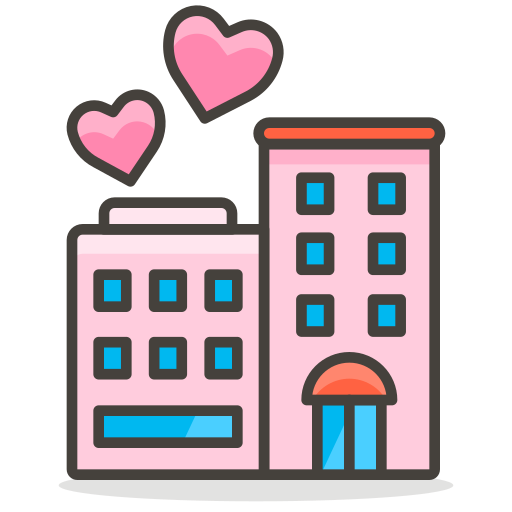 Love, Hotel Icon Free Of Free Vector Emoji