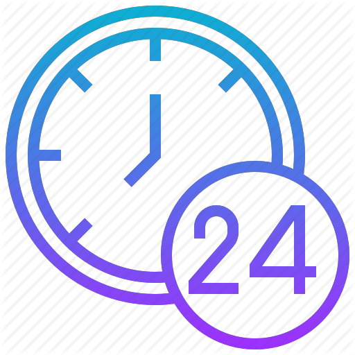 Any, Business, Hours, Service, Time Icon