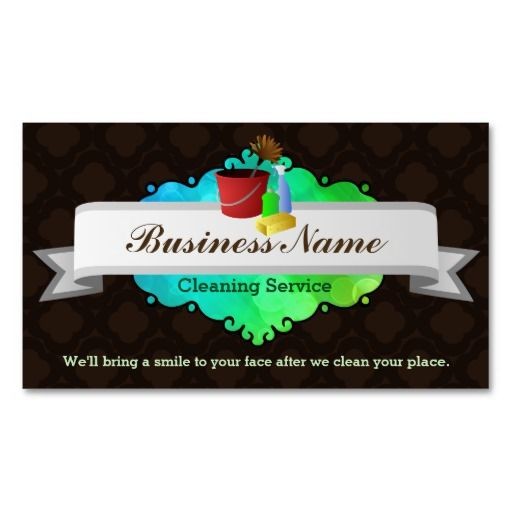 Great House Cleaning Business Cards Business Cards