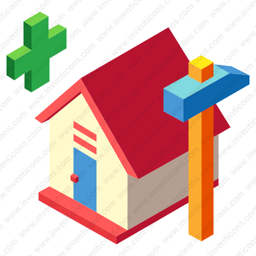 Download House,construction Icon Inventicons