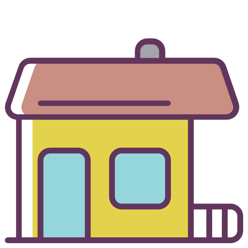 House, Home, Construction Icon Free Of Line Color Mix Icons