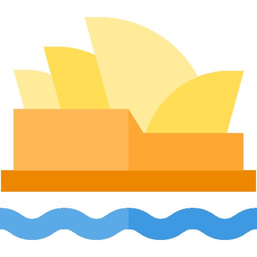 Monuments Australia Flat Icon
