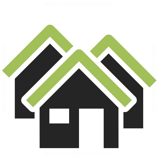 Houses Icon Iconexperience