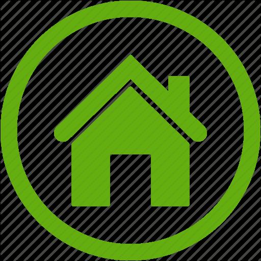 Building, Construction, Estate, Green, Home, House Icon