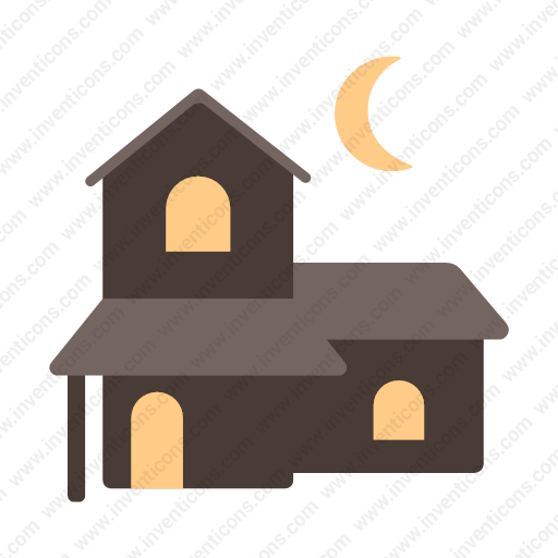 Download Haunted,house Icon Inventicons