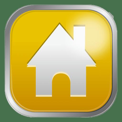 Yellow House Icon