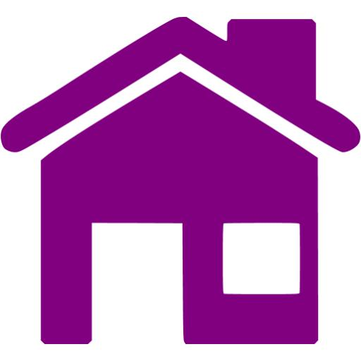 Program Icon House With Purple Images