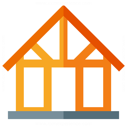 Iconexperience G Collection House Framework Icon