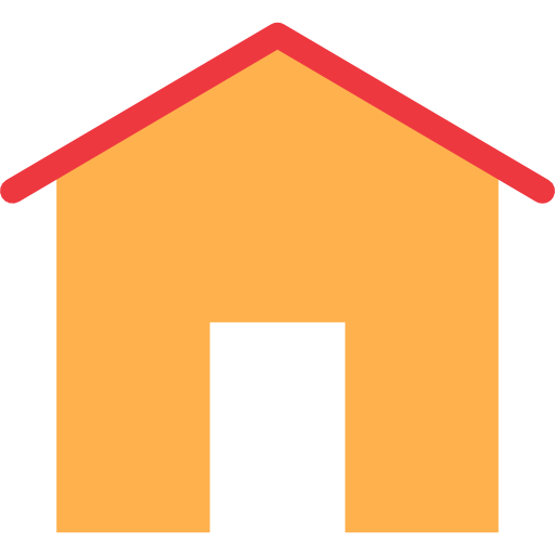 Interface House Flat Icon