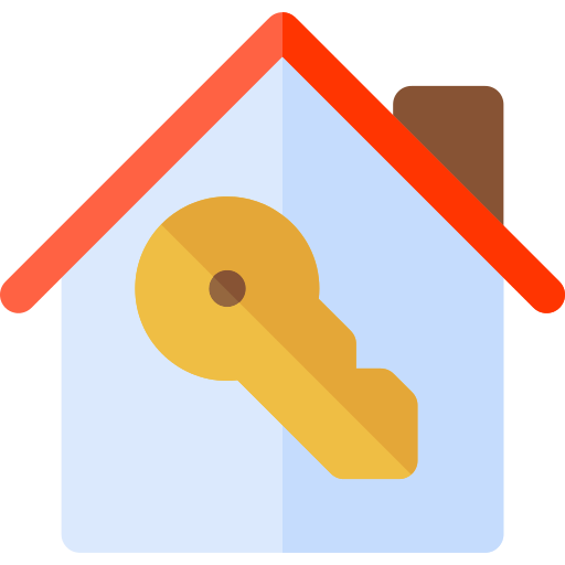 Real Estate House Key Png Icon