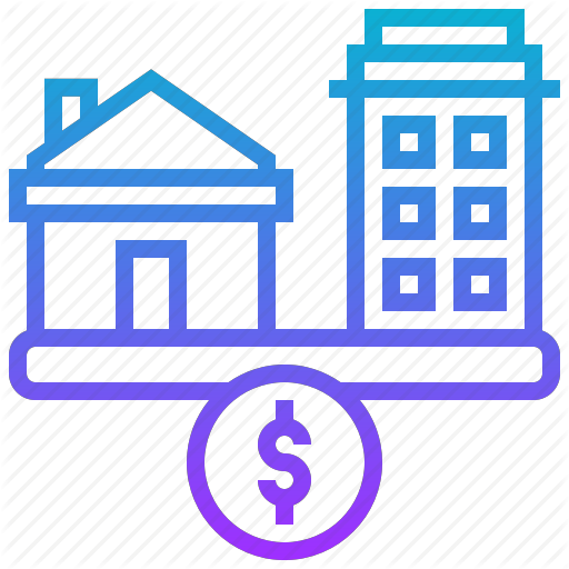 Affordable, Bank, Housing, Income, Residence Icon