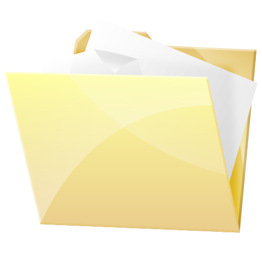 Hr Documents Folder Dock Icons, Free Icons In Hydroretro Hr Dock