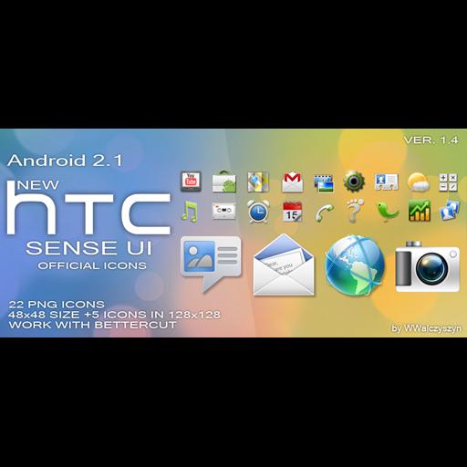 New, Sense, Preview, Htc Icon