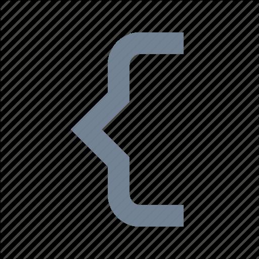 Braces, Code, Html Icon
