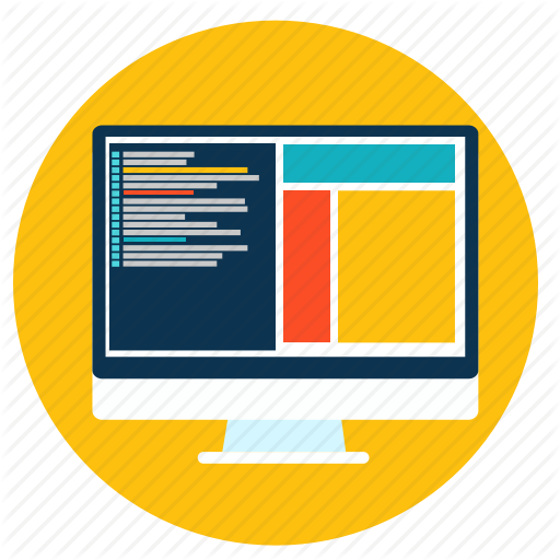 Code, Computer, Css, Html, Responsive, Web Icon