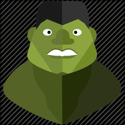 Avatar, Comics, Face, Green, Hulk, Man, Monster Icon