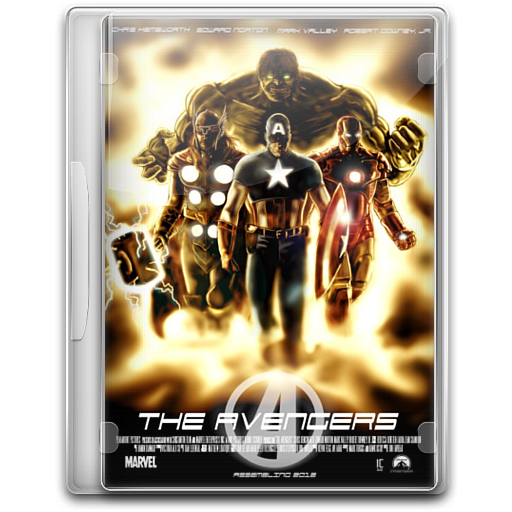 Avengers Icon English Movie Iconset Danzakuduro