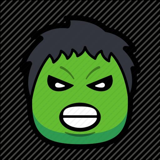 Cartoon, Hero, Hulk, Superhero Icon