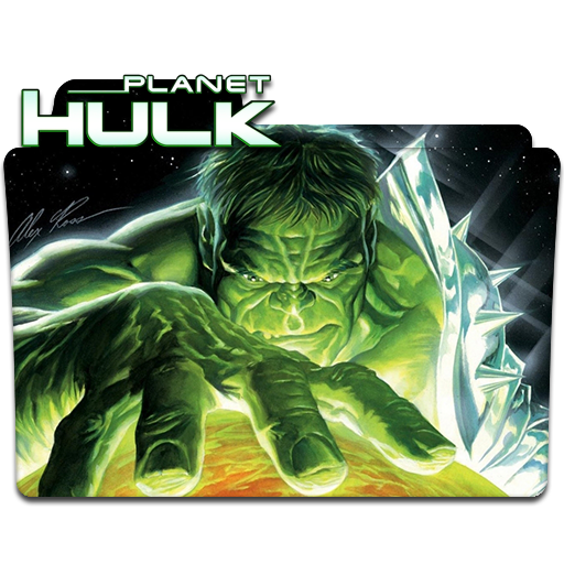 Planet Hulk Folder Icon