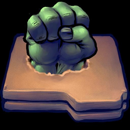 Hulk, Desktop, Ui, Metaphor!!, Antiquated, Smash Icon
