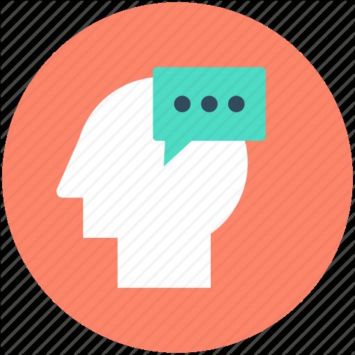 Brain, Head, Human Brain, Human Head, Thinking Icon