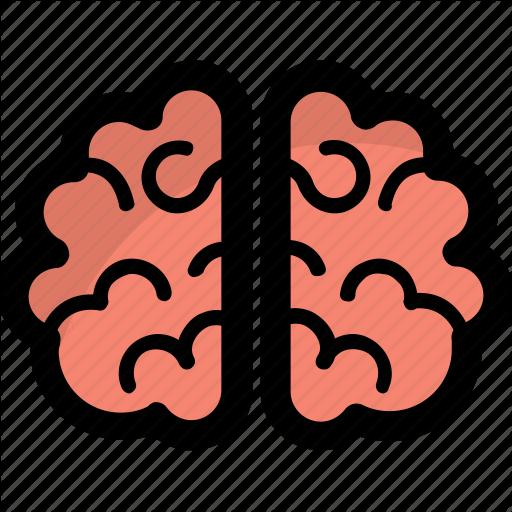 Brain, Head, Human Brain, Mind, Sense Icon