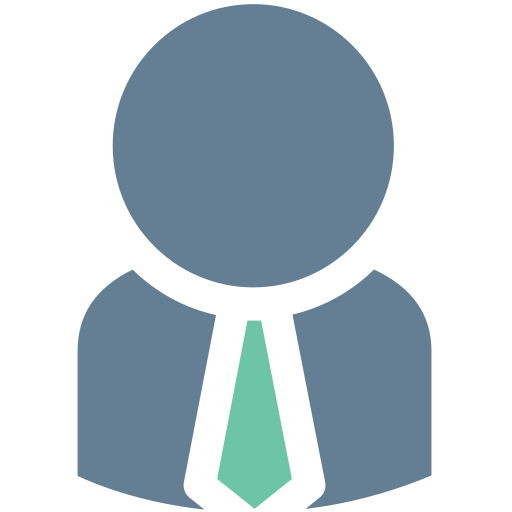 Business, Man, Employee, Human, Member, Office, Tie Icon Free