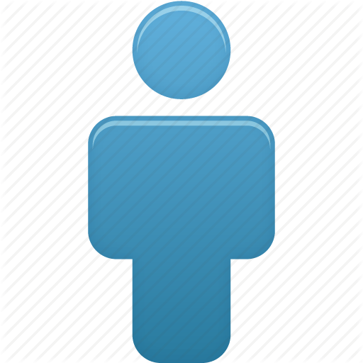 Person Blue Icons