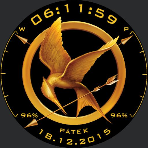 The Hunger Games Design For G Watch R